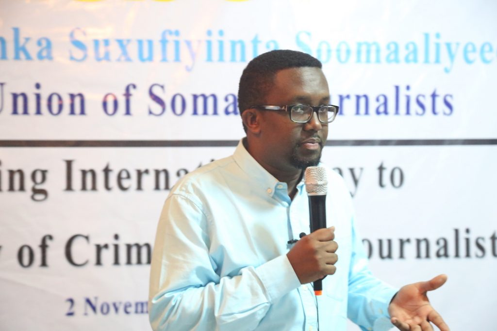 Somalia ends 2016 with gloomy record of repression against journalists, says NUSOJ