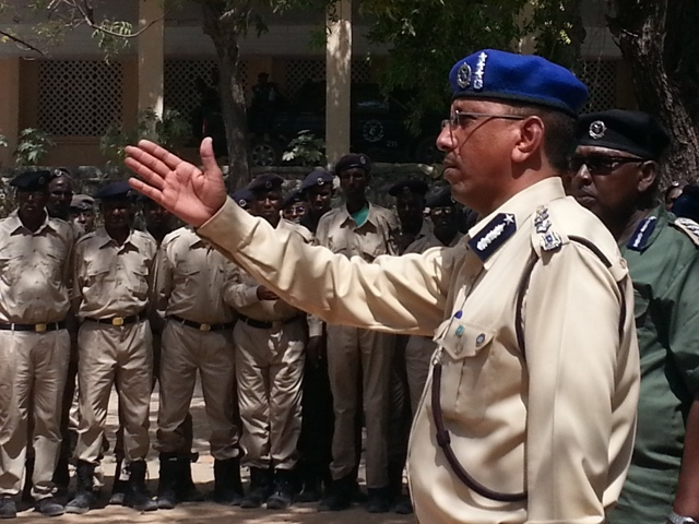 Somalia:Police commando prepares to mark 70 anniversary of its foundation