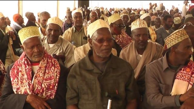 THE GADABUURSI CONFERENCE AT GOB, NOTHERN SOMALIA