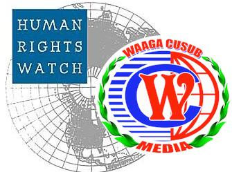 Somalia:Propaganda added in HRW report
