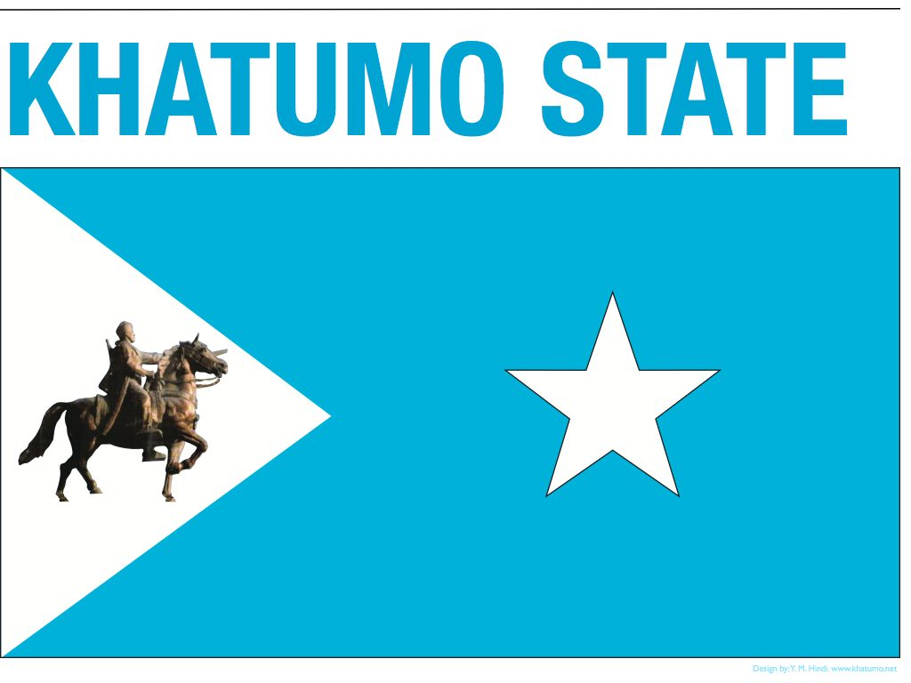 Somalia:The five star blue sky is where khaatumo belongs.
