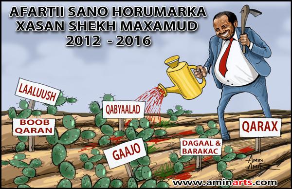 [Daawo] cadeeyn buuxda sidii Garguurte u kala diray Ciidanka xooga dalka Somalia