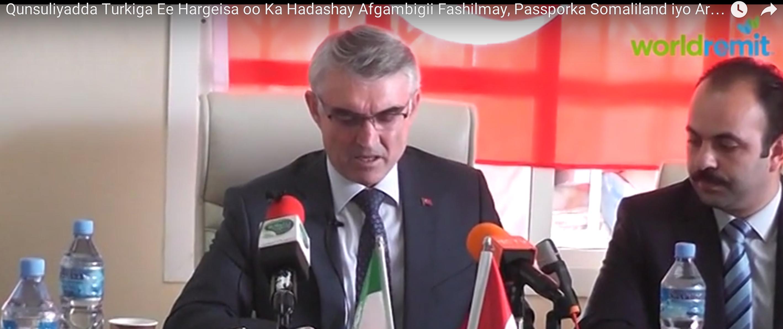 [Daawo] Turkiga oo Qaranimadda Somalia ku gefay kuna dhawaaqay ?