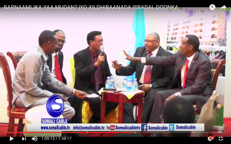 [Daawo] Wasiiru dowlaha Khaarijiga Somalia oo ceebtii aduunka ka raacday doodii ugu adkeeyd ee shacabka loo fasaxay iney hadlaan