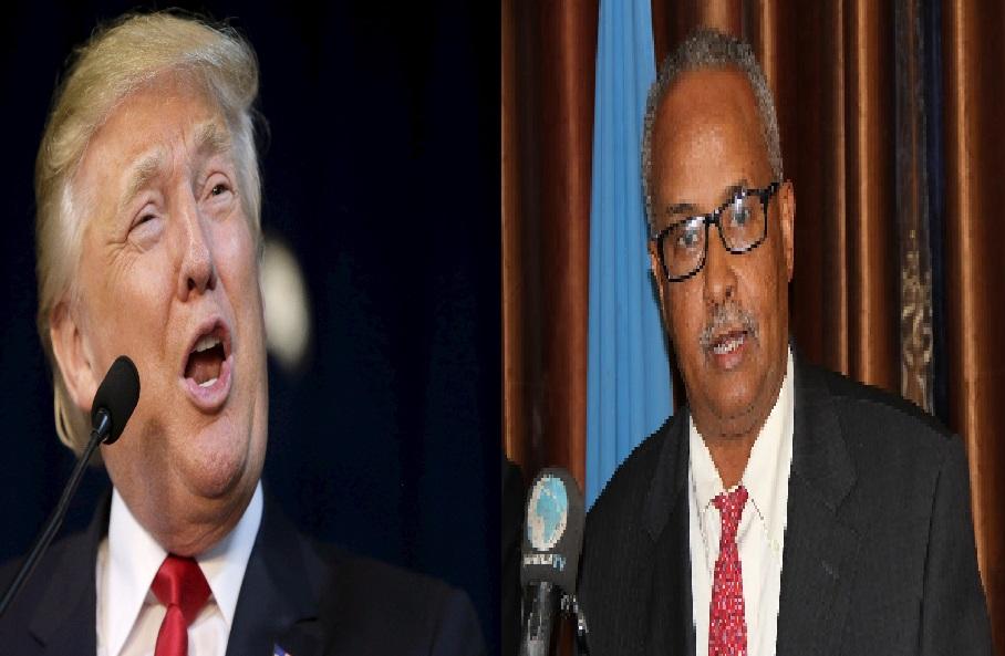 [DHAGEYSO:]Wasiirka Arimaha Dibadda Soomaaliya oo ka Hadlay Go'aankii Donald Trump?