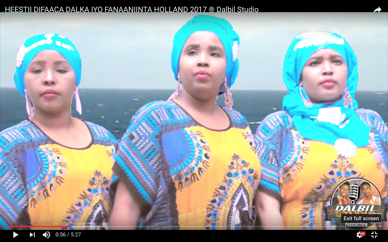 [Daawo]Fanaaniinta Xidigaha Holland oo hees ku difaacay badda Somalia -HABIQLEYSO GROUP