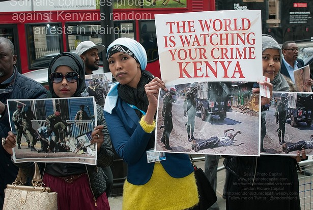 Ethnic Somalis are dying in Kenya, and some say the government is to blame