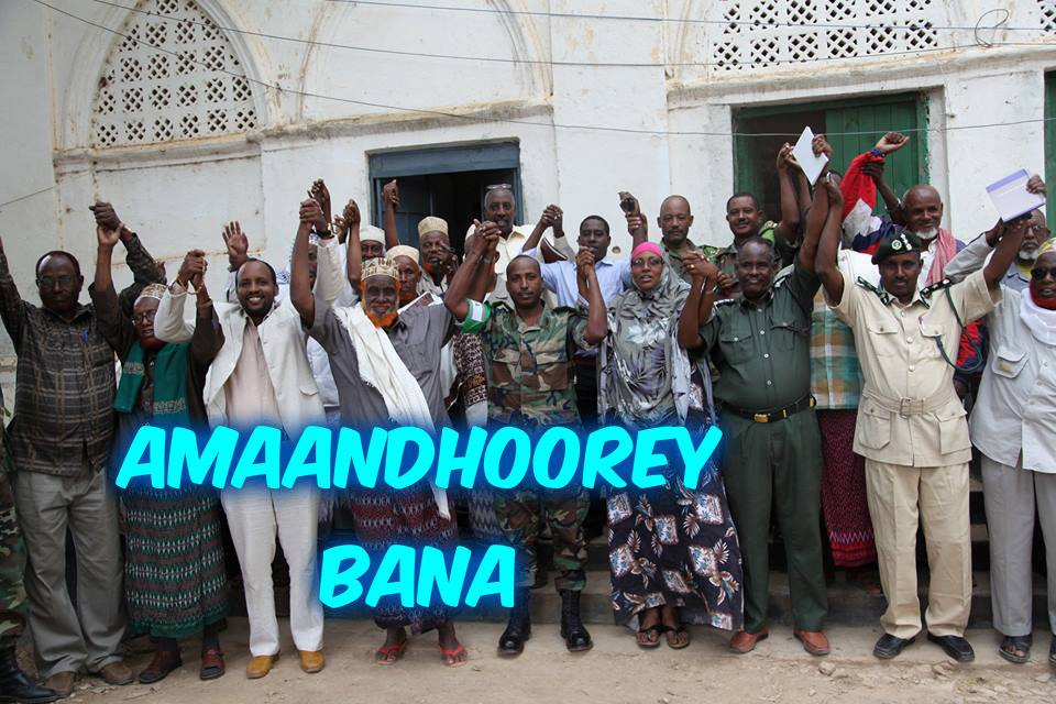 Baidoa Council of elders and Local Administration vow to work with AMISOM to fight Al-Shabaab