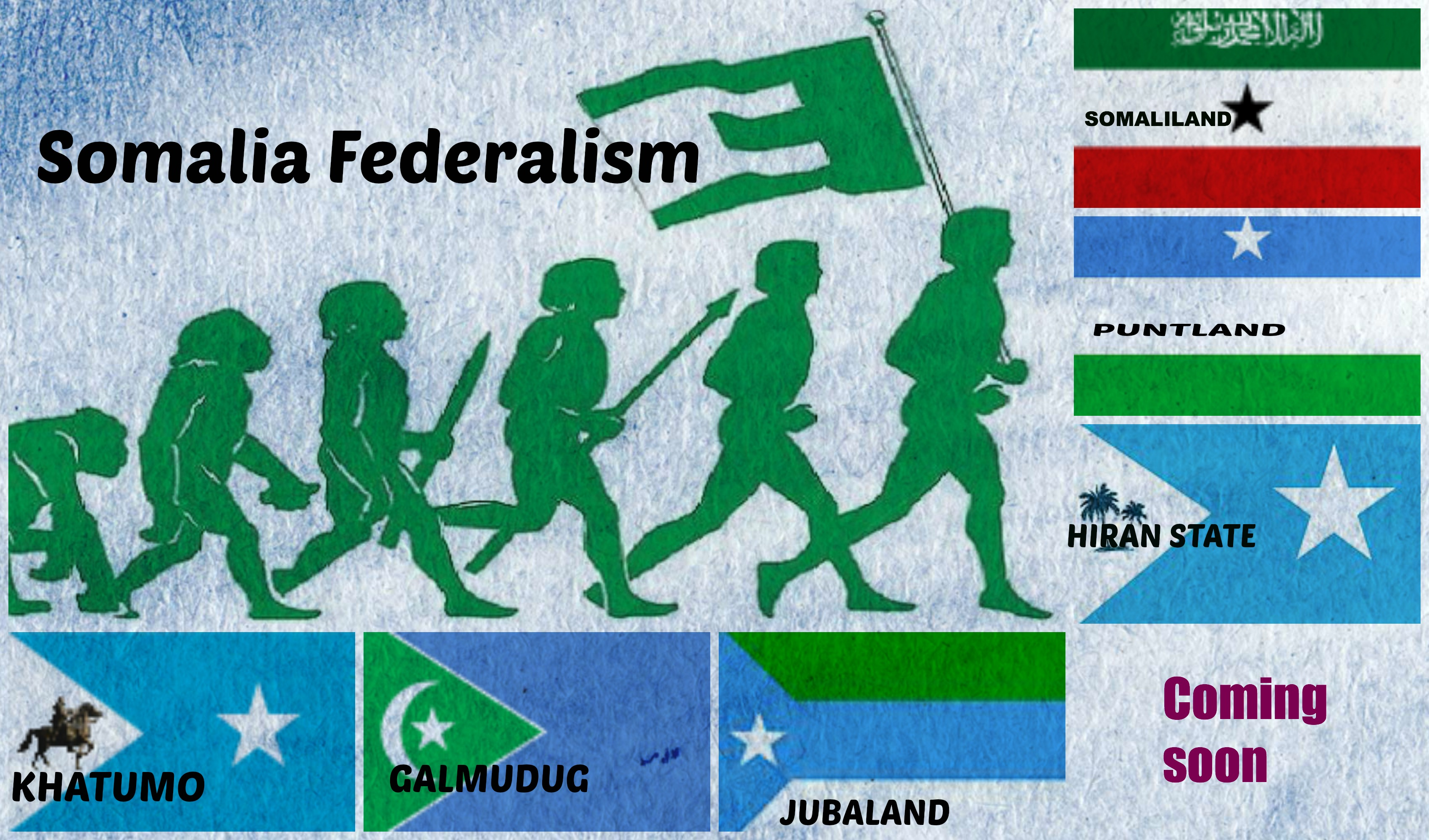 The Reason Behind Creating Tribal Federal States in Somalia!!
