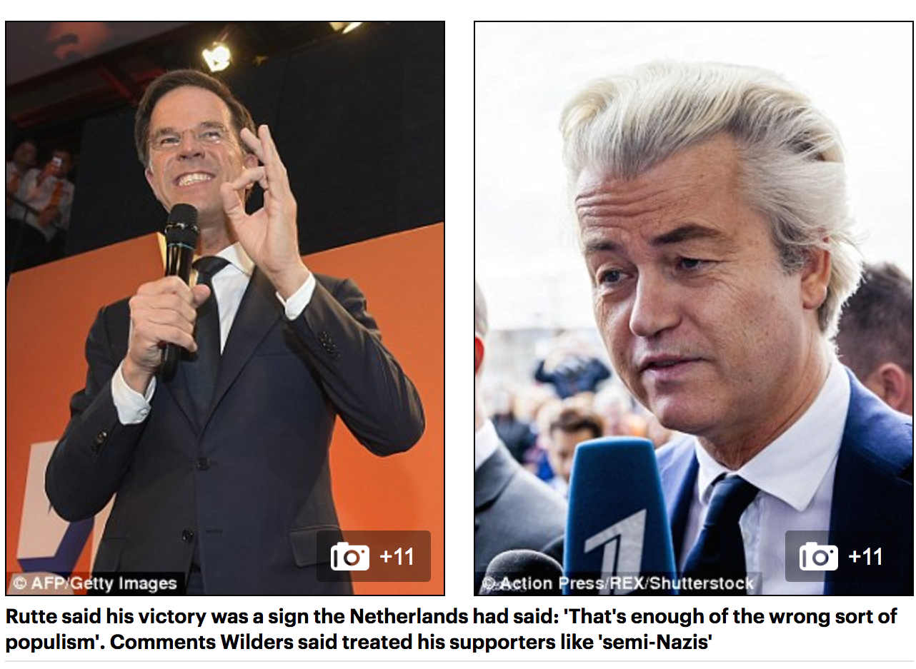 Far-Right Dutch MP Geert Wilders FAILS to make inroads in general ...