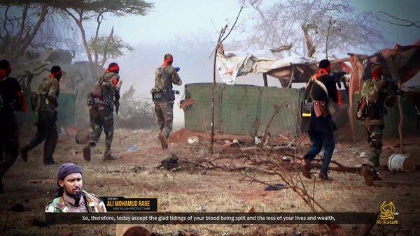 [Daawo Video] Al-Shabaab oo sii daayay muuqaalka weerarkii lagu xasuuqay Ciidanka Kenya iyo naftii hurihii isku qarxiyay Ceelcadde-{DIGNIIN]