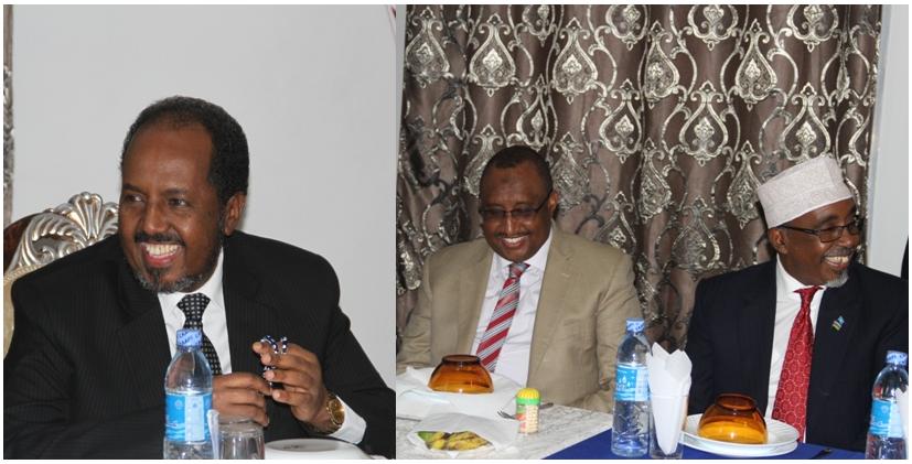 Somali President and Puntland's  Sign a Secret MoU