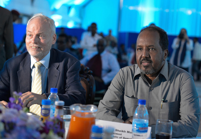 Nicholas Kay rejects Somali President proposed 4.5 formula political process in 2016