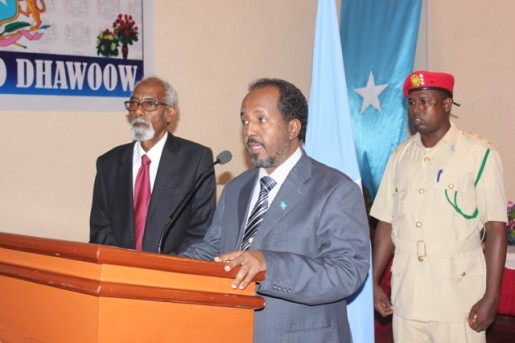 UNSOM offers support as Somalia President holds consultations in Baidoa with supporters