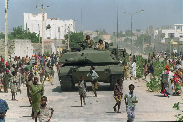 Somalia: Mogadishu people dismayed  by American military action
