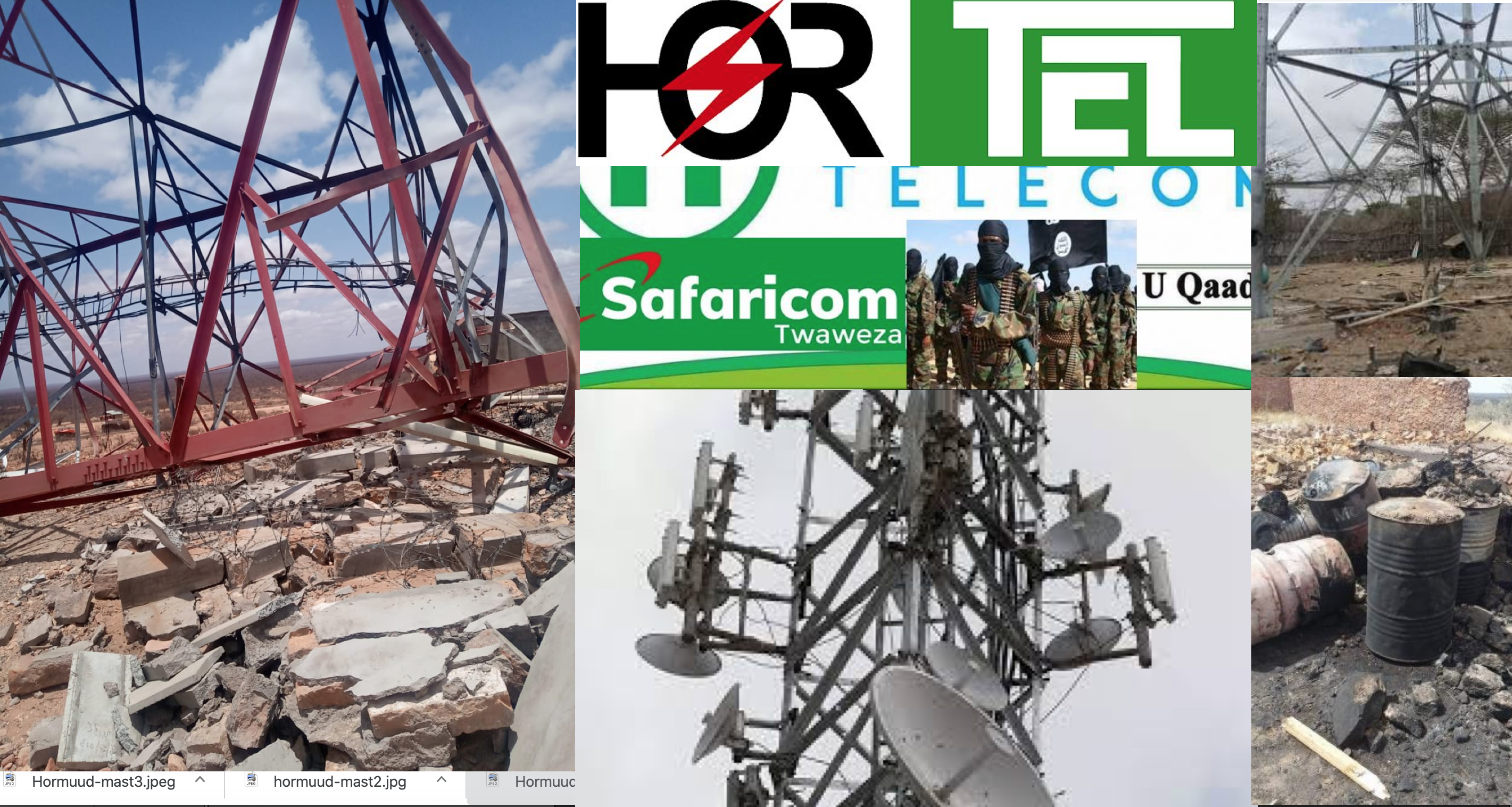 Hormuud telecom and Al-Shabaab's Strategy of Destroying Mobile Communication Masts