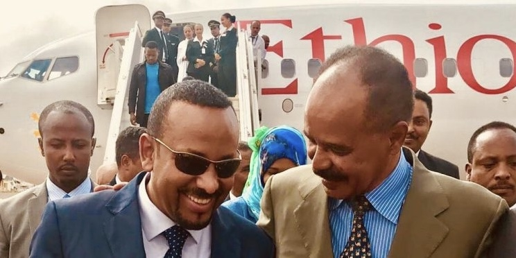 Ethiopian & Eritrean Leaders Meet For First Time In More Than 2 Decades