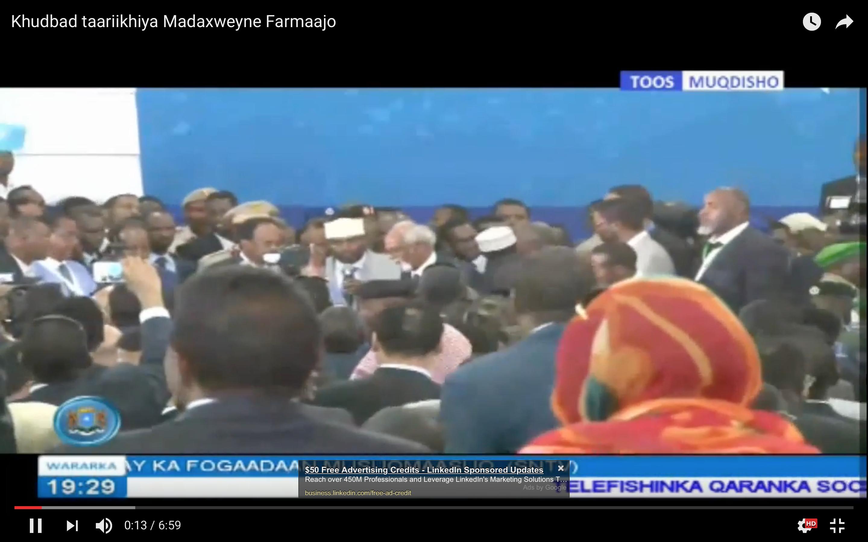 UN salutes Somali's new president