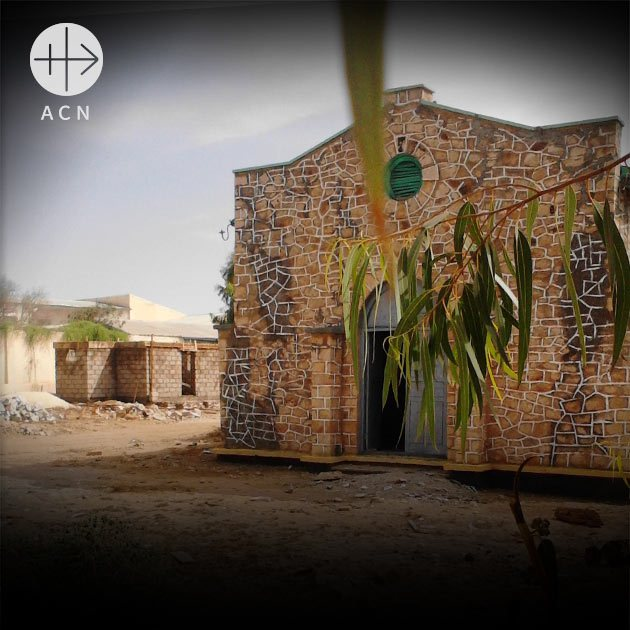 Catholic church has been rebuilt and reconsecrated in Somalia