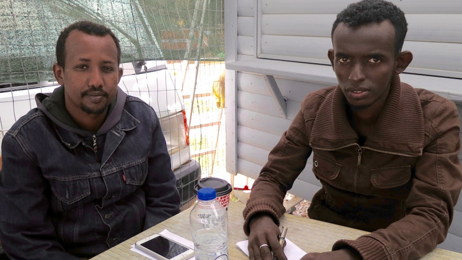 Three Somali journalists on Lesbos hope for the best — asylum in Europe