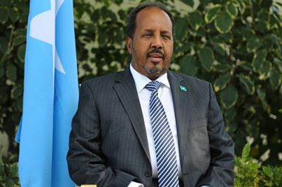 Gardens and Trees in Villa Somalia missing ex- President Sharif.