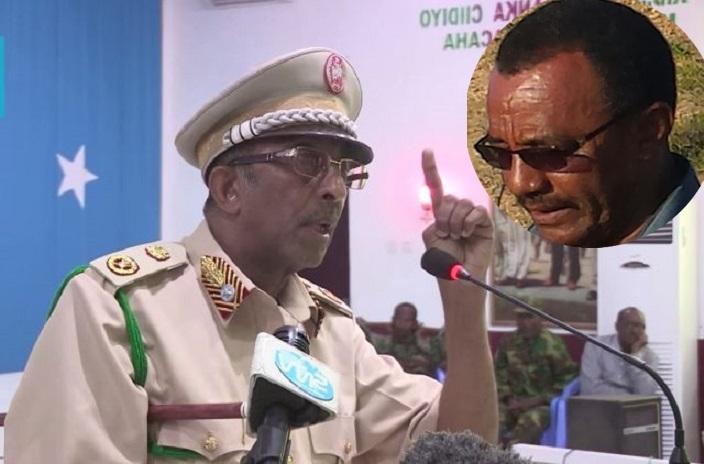 [Topnews:-] Jeneral Gabre oo xoog looga saaray shirkii hogaanka Ciidanka xooga Somalia?