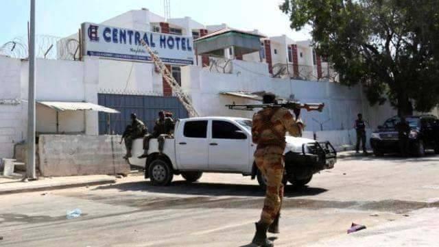 Somali Dutch detonated herself in Central hotel
