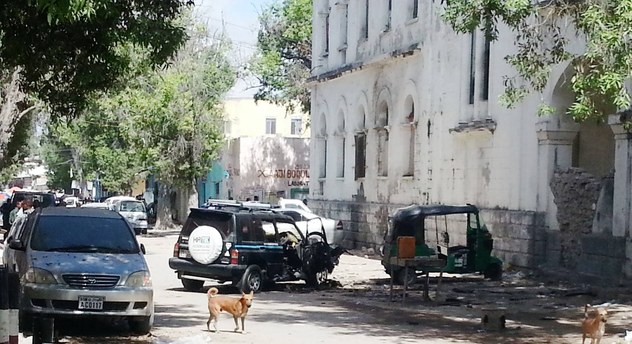 Somalia:Heavy explosion struck the car of MP