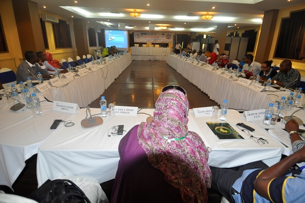 The African Union Mission in Somalia holds a Leadership Capacity Building Conference for Somali Youth
