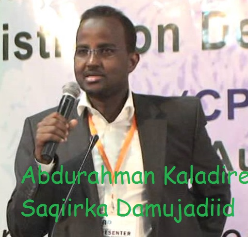 Somalia :Who is the Minister of interior and federal Affairs ?