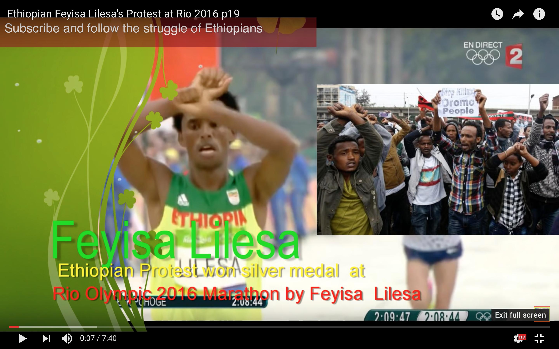 [Daawo] Oradyahankii guusha hantay oo Xukumaddii Ethiopia god dheer ku riday kadib markii RIO ka dhigay banaanbax