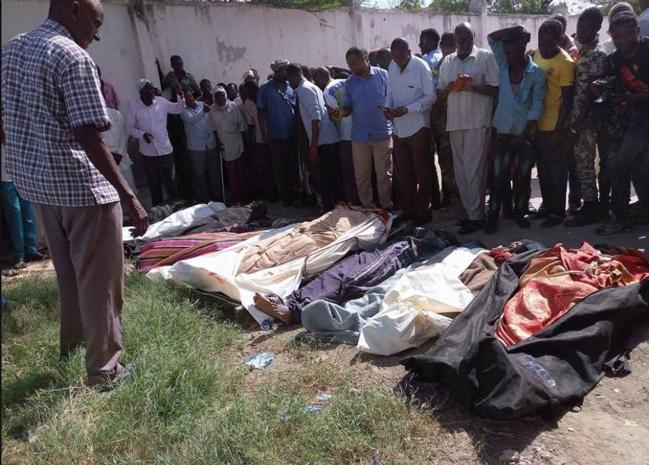 Somalia: US Troops killed 10 civilians -Real Genocide