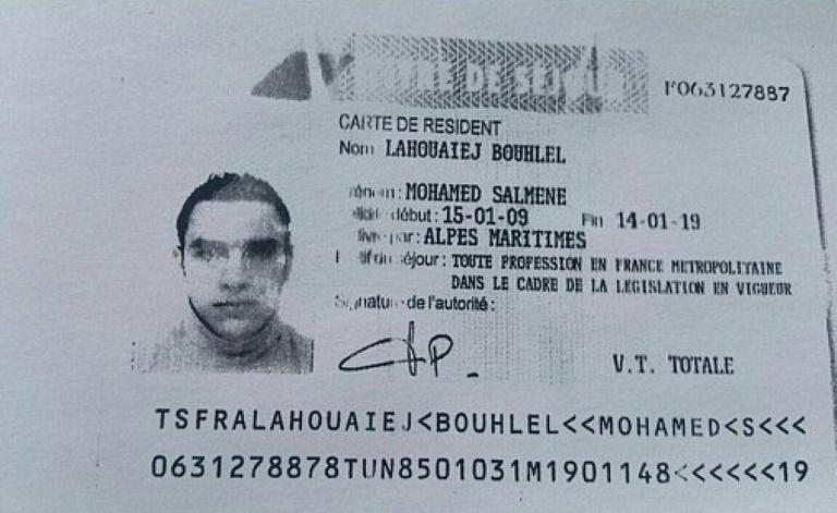 Tunisian 'terrorist' kills 84 in Nice truck attack