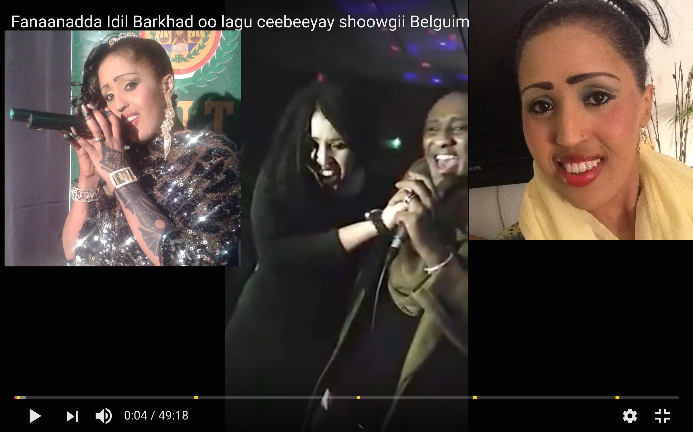 [Daawo] Fanaaadda Idil Barkhad oo lagu ceebeeyay Shoowgii Belgium-ka