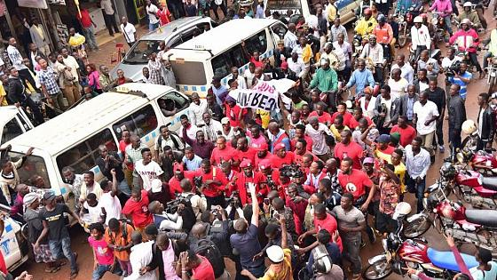 Ugandan MP, journalists arrested as police disperse social media tax protest