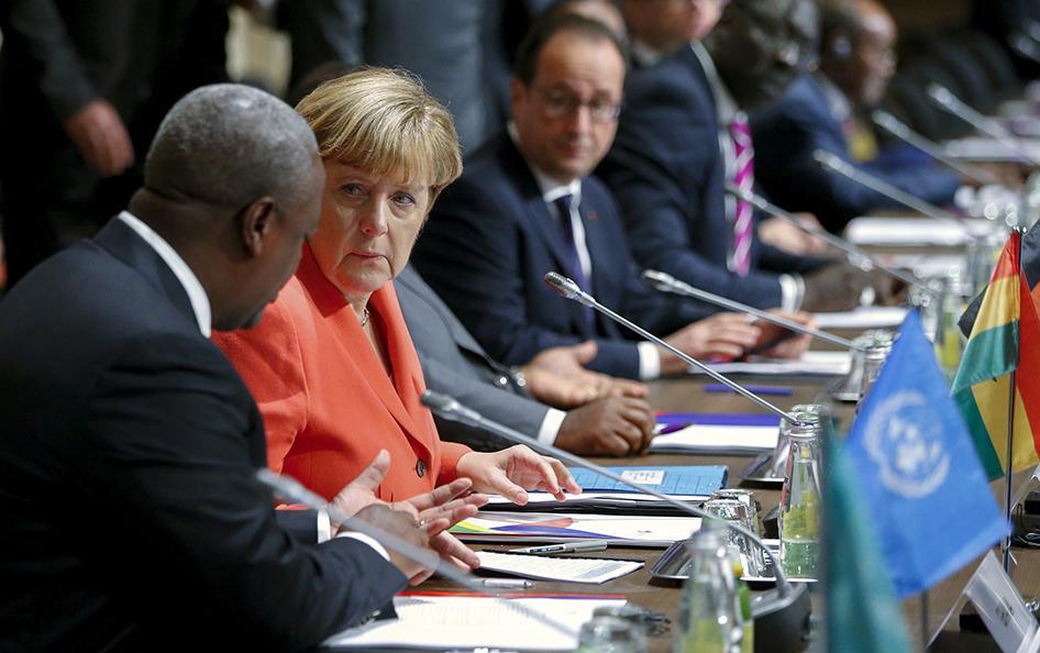 Germany: Merkel Should Press Rights on Africa Trip