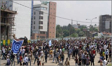 Witness for Ethiopia's Semayawi (Blue) Party