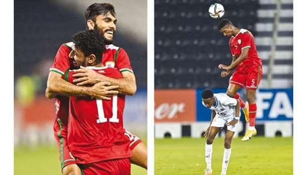 Oman hold off plucky Somalia to make main draw