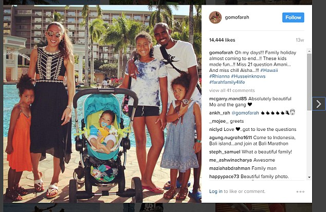Mo Farah faces being BANNED from returning to his family in America
