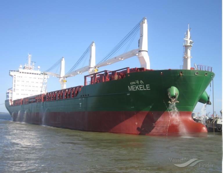 Ethiopian cargo ship called 'Mekelle' will dock tonight in Eritrean Port