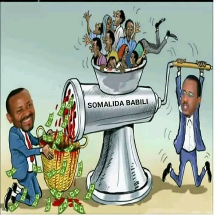 Oromo Militia's Attack The Border Town Of Jinicsani