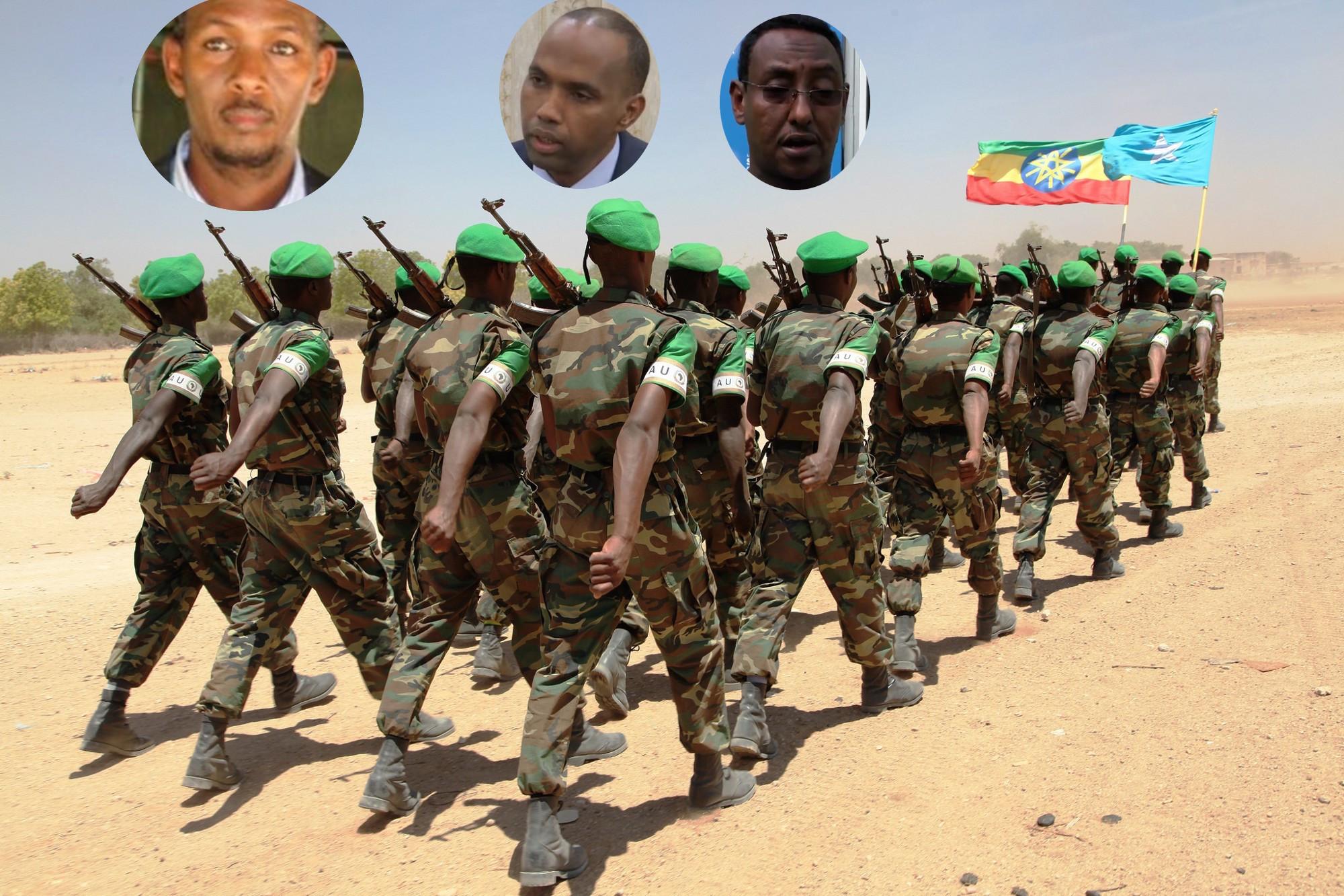 Topnews:- Farmaajo oo Ciidanka Uganda fasaxay Amnigana ku wareejiyay Ethiopia .