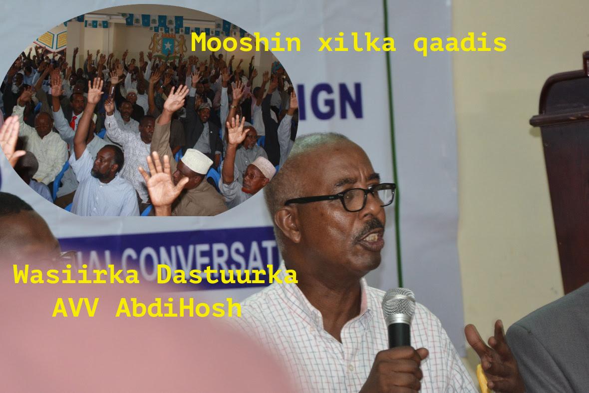 Topnews:- Baarlamaanka Somalia oo maanta shaqadda ka eryi doona Wasiir Xoosh kadib markii ?
