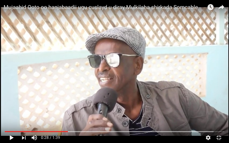 [Daawo] Somcable oo xanibtay Website-yadii Mucaaraday Muse biixi iyo Ina Aw Saciid oo ku biiray dagaal oogayaasha Somalia