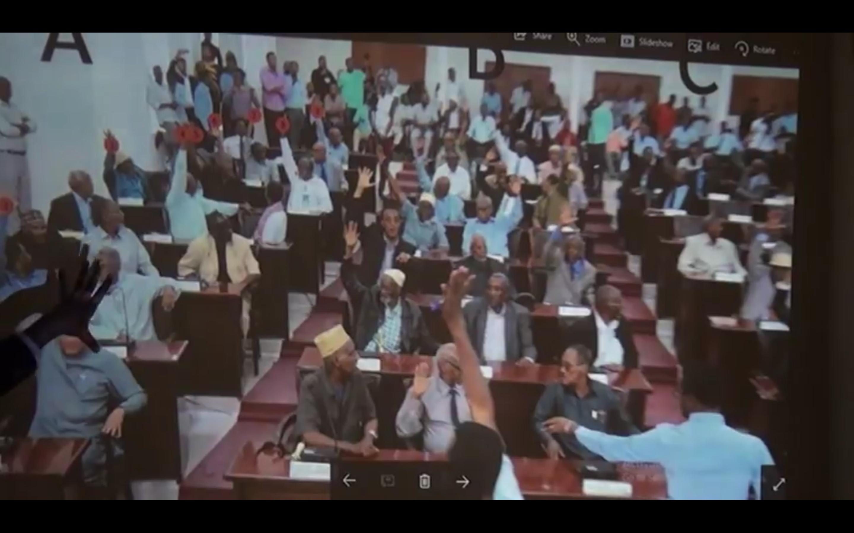 [Daawo Video CCTV] Fadeexadii doorashadii Gudoonka Wakiiladda Somaliland oo la helay