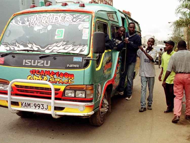 Five people were killed after unknown gunmen fired their mini-bus