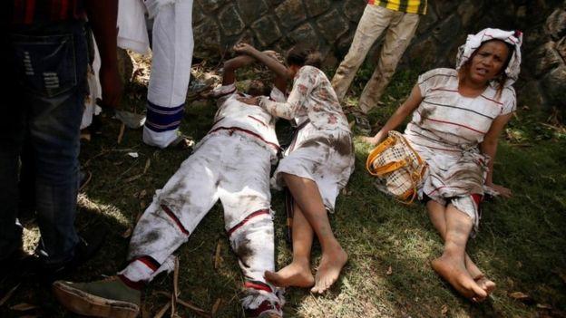 Oromia:Deadly stampede at Ethiopia protest