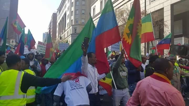 Ethiopia: Anti-government protests Spread Worldwide
