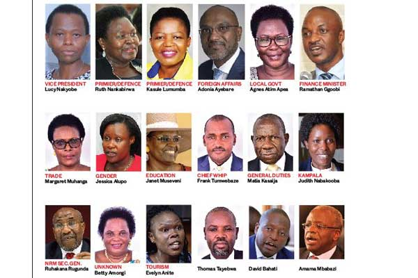 UGANDA: New Cabinet Members and Ministers of State