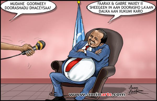 [Wardegdega Sirculus ] Garguurte oo Ethiopia ku saxiixay inuu Turkey ka saaraayo Somalia iyo qodobo halisa ?